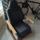 Simple Car Seat Couch