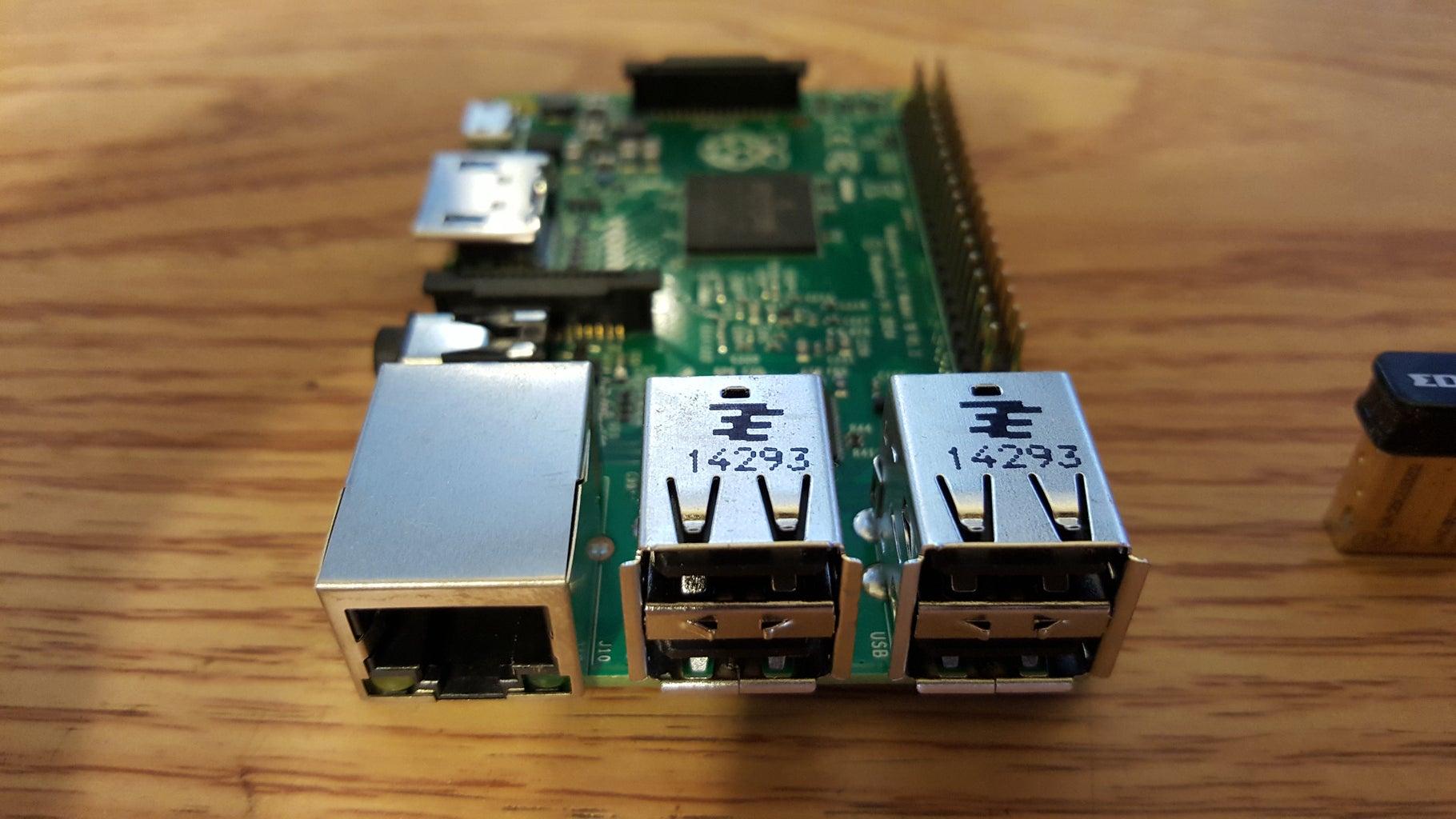 Raspberry Pi Wifi Router Prank