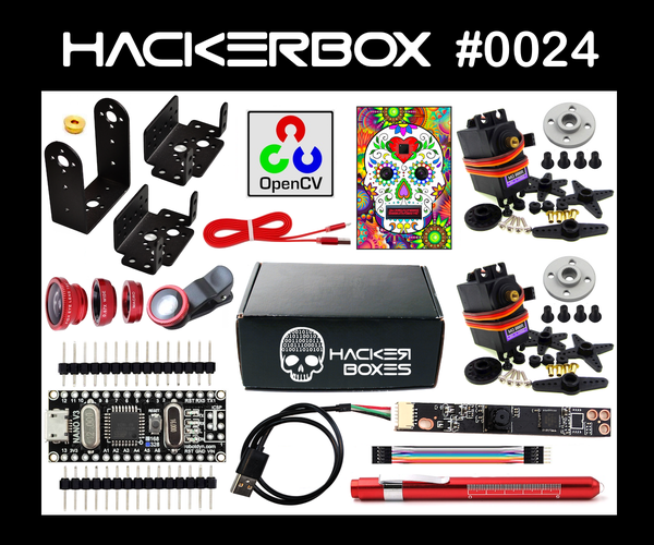 HackerBox 0024: Vision Quest