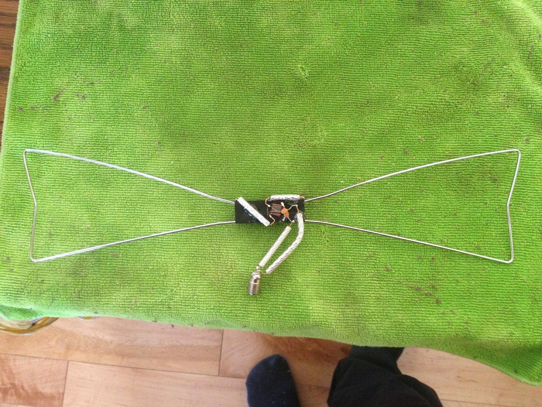 Prepare the Antenna / Make an Antenna.