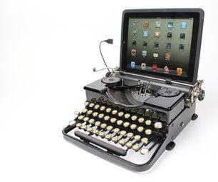 USB Typewriter Kit for Royal Portable Typewriters
