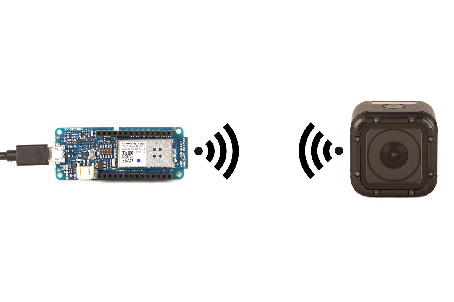 Connect an Arduino to the GoPro Hero Session