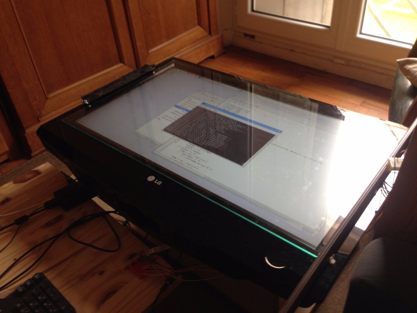 Building the Touch Screen : Find a Precise X Y Position