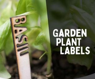 3D园林植物标签