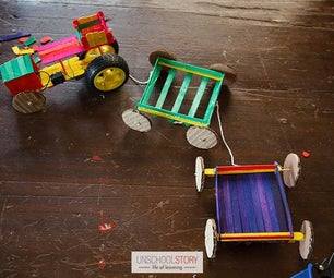DIY Electric Popsicle Train