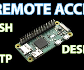 Remotely Accessing the Raspberry Pi: SSH, Dekstop & FTP