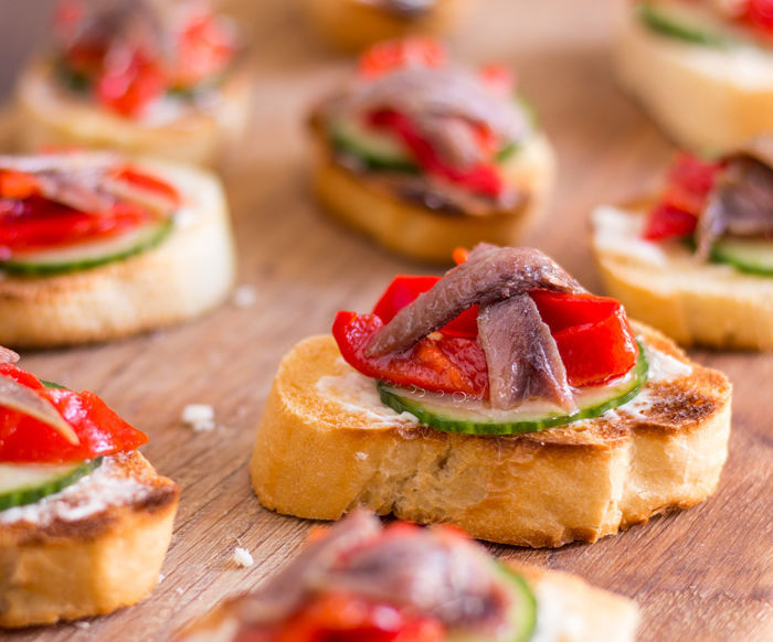 Anchovy Hors d' Oeuvres