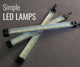 Simple LED Strip Lamps (Upgrade Your LED Strips)