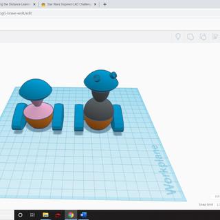 Star Wars Inspired CAD Challenge!