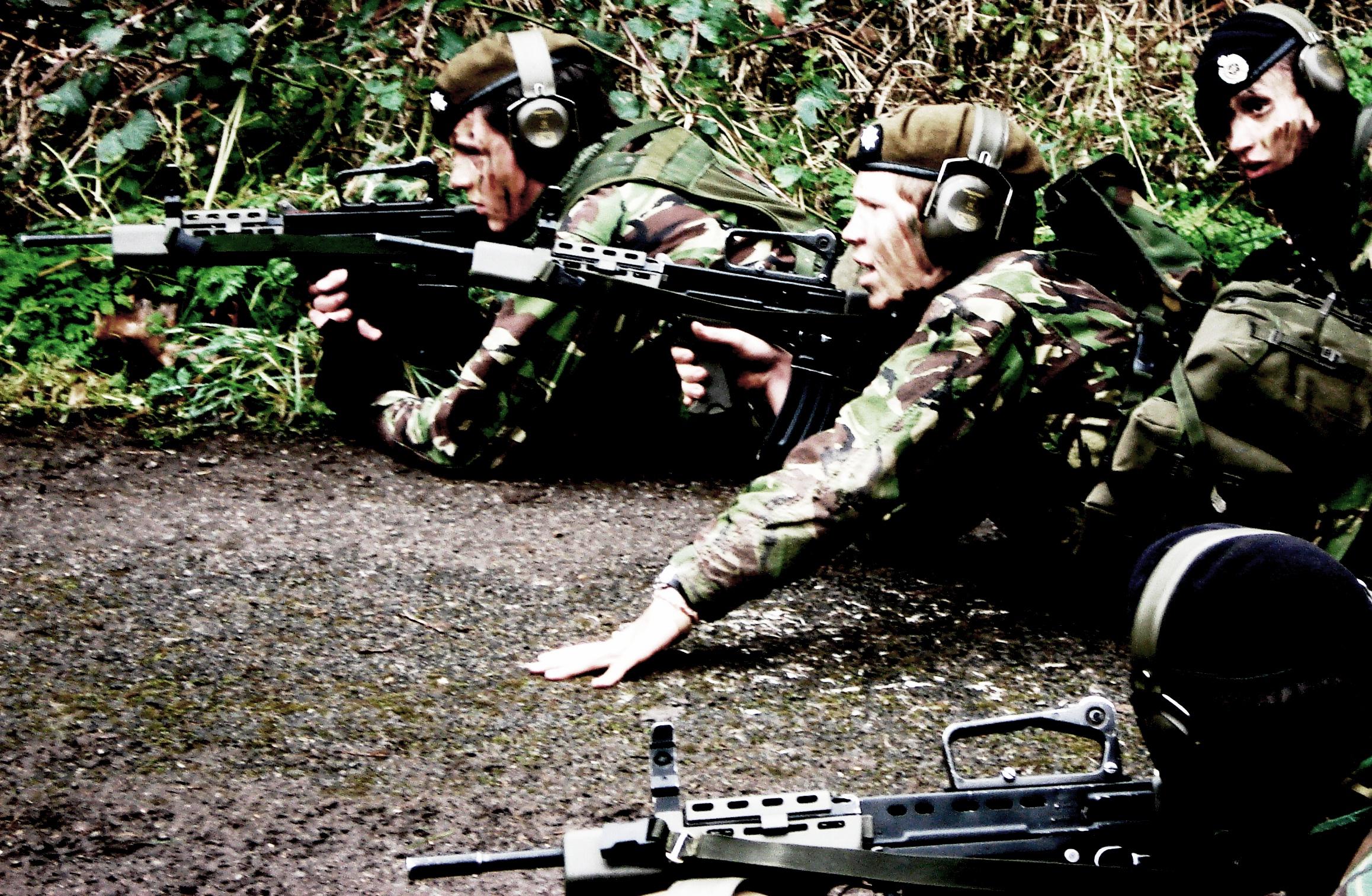 (Army Cadets) Webbing set up