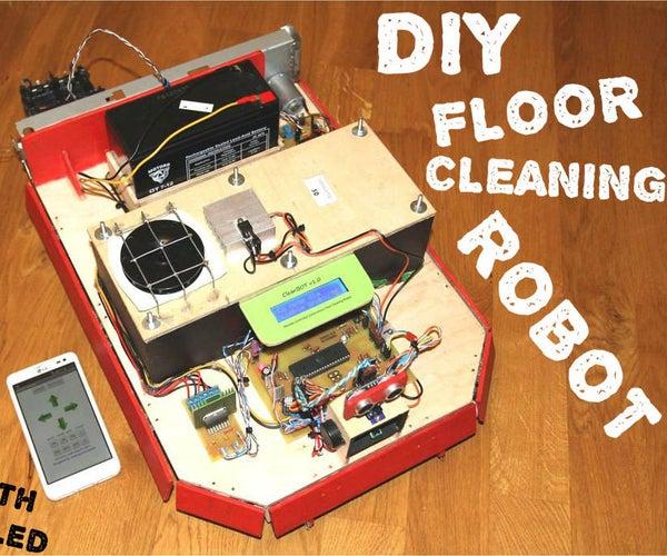 CleanBOT- Your DIY Floor Cleaning Robot