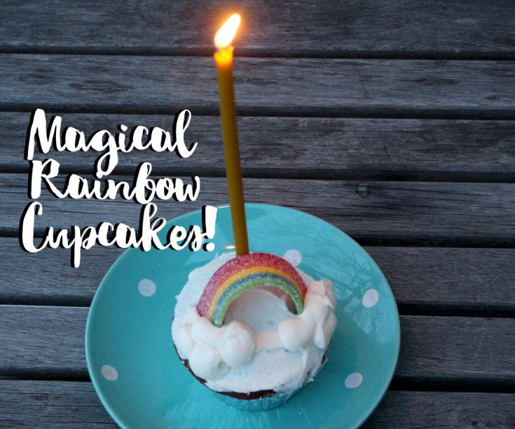 Magical Rainbow Cupcakes!