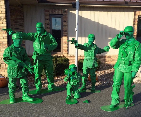 Family of Toy Soldiers