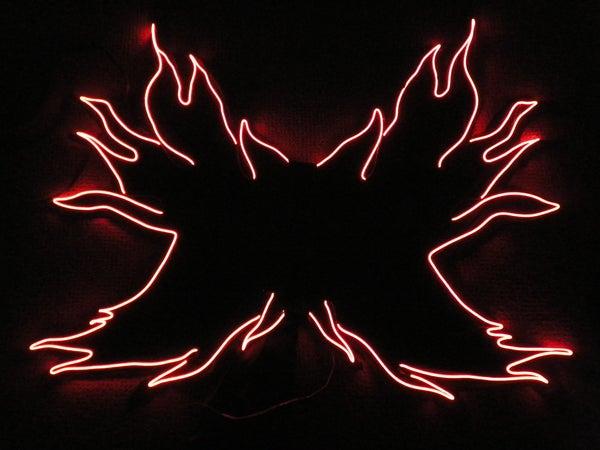 EL Wire Fairy Wings