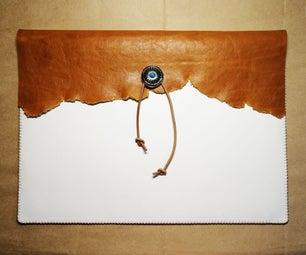 An Indian Style Leather Handbag