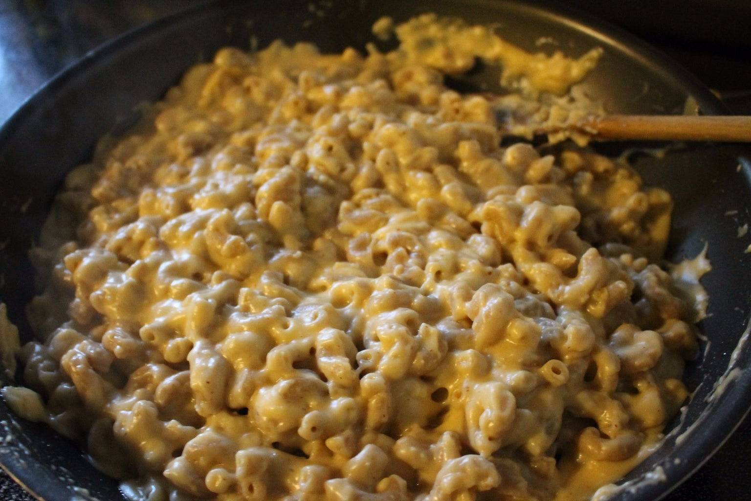 Cook Pasta & Make Cheese Sauce