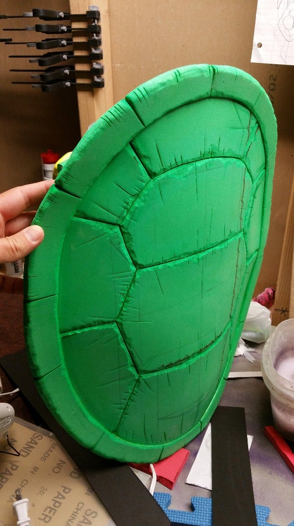 Shaping and Detailing the Shell