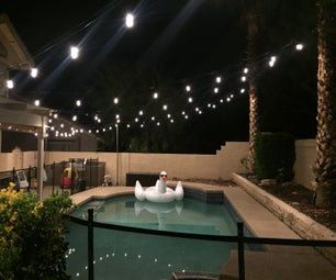 Extend Your Summer Hours! = String Lighting Professional Install