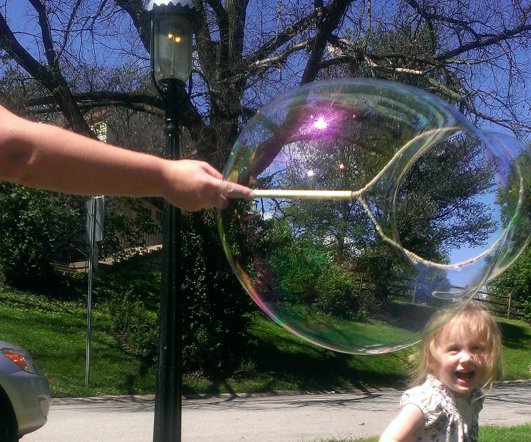 DIY Bubble Wand