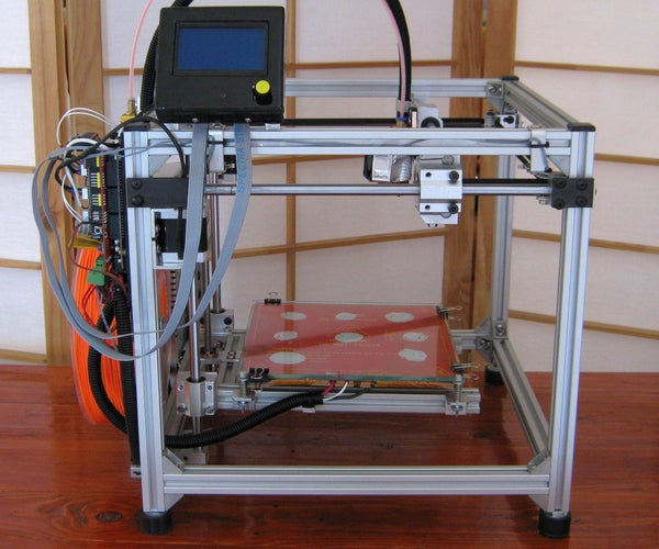 Total Metal Hypercube 3D Printer (no Printed Parts)