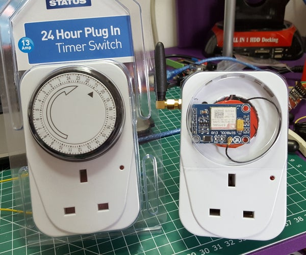 GSM Text Operated Mains Switch