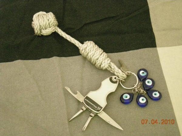 Monkey's Fist Keychain