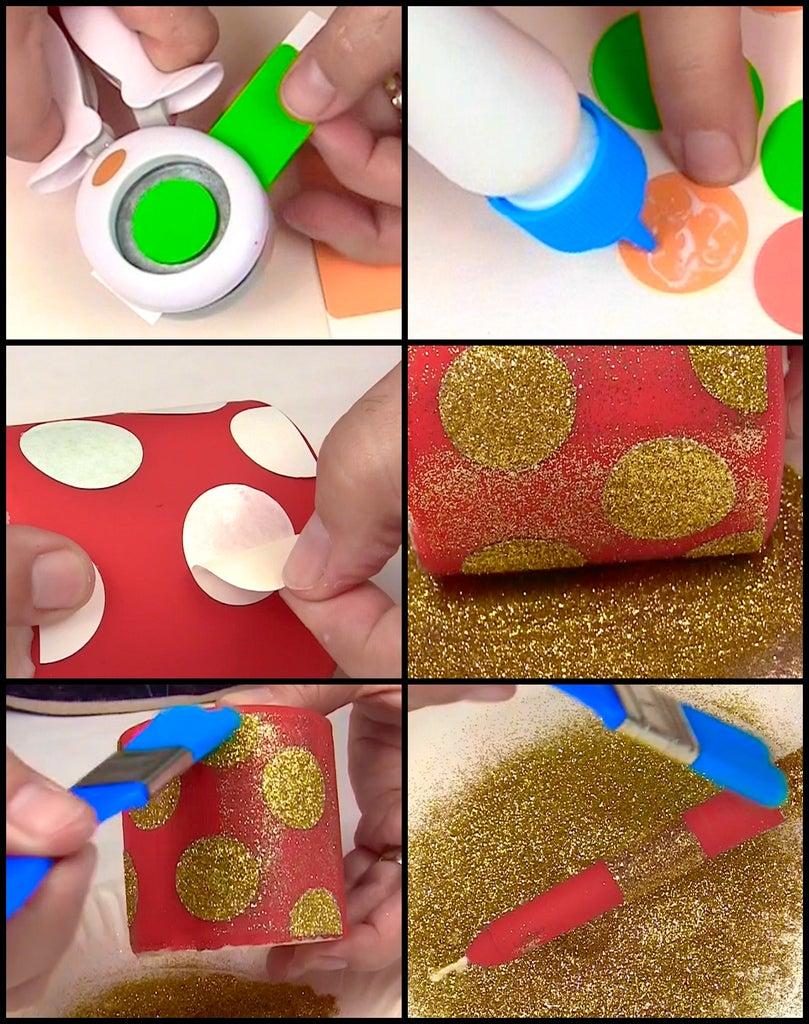 Glue and Glitterize!