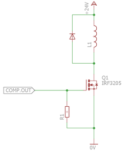 Driving Coils (MOSFET)