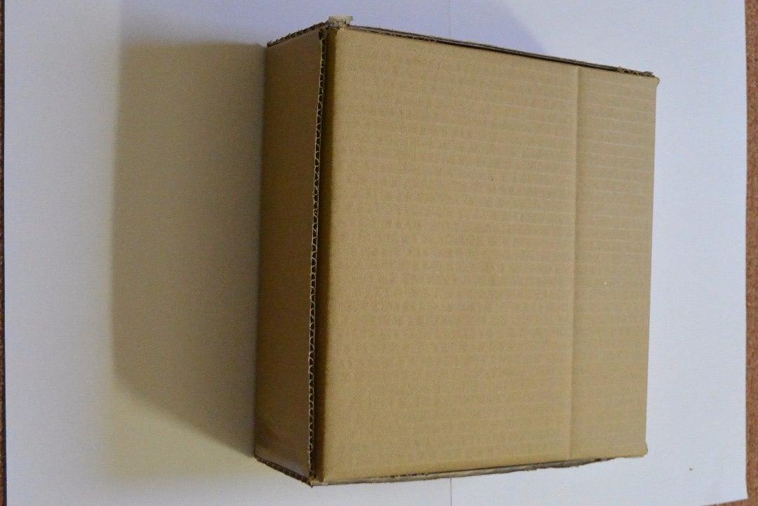 Singing Cardboard Cake Box