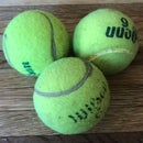 Simple Weighted Juggling Balls