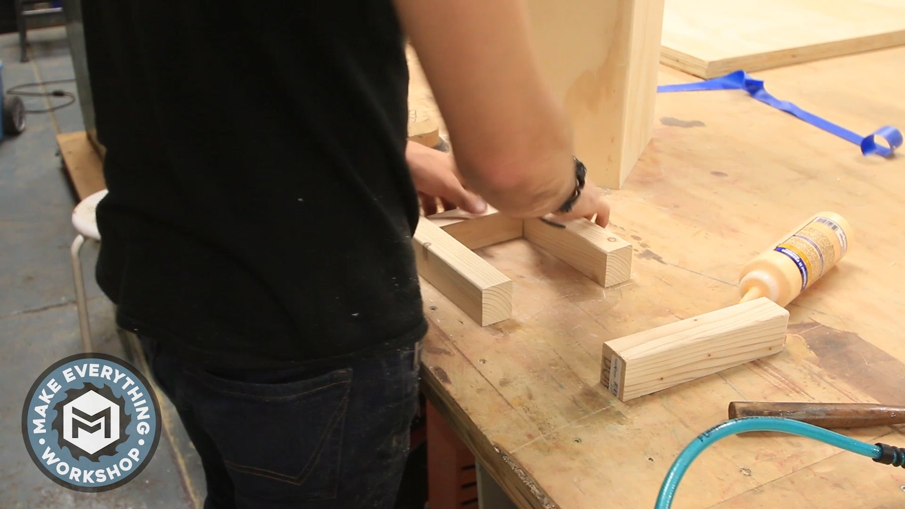Build the Base and Mounting Brackets