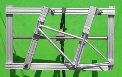 The Simplest Bicycle Framebuilding Jig I Could Come Up With...