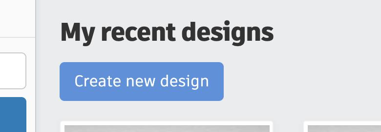 Create a New Design