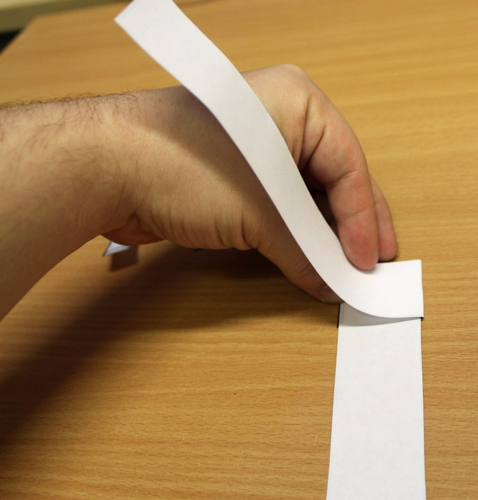 Braid the Strips of Paper