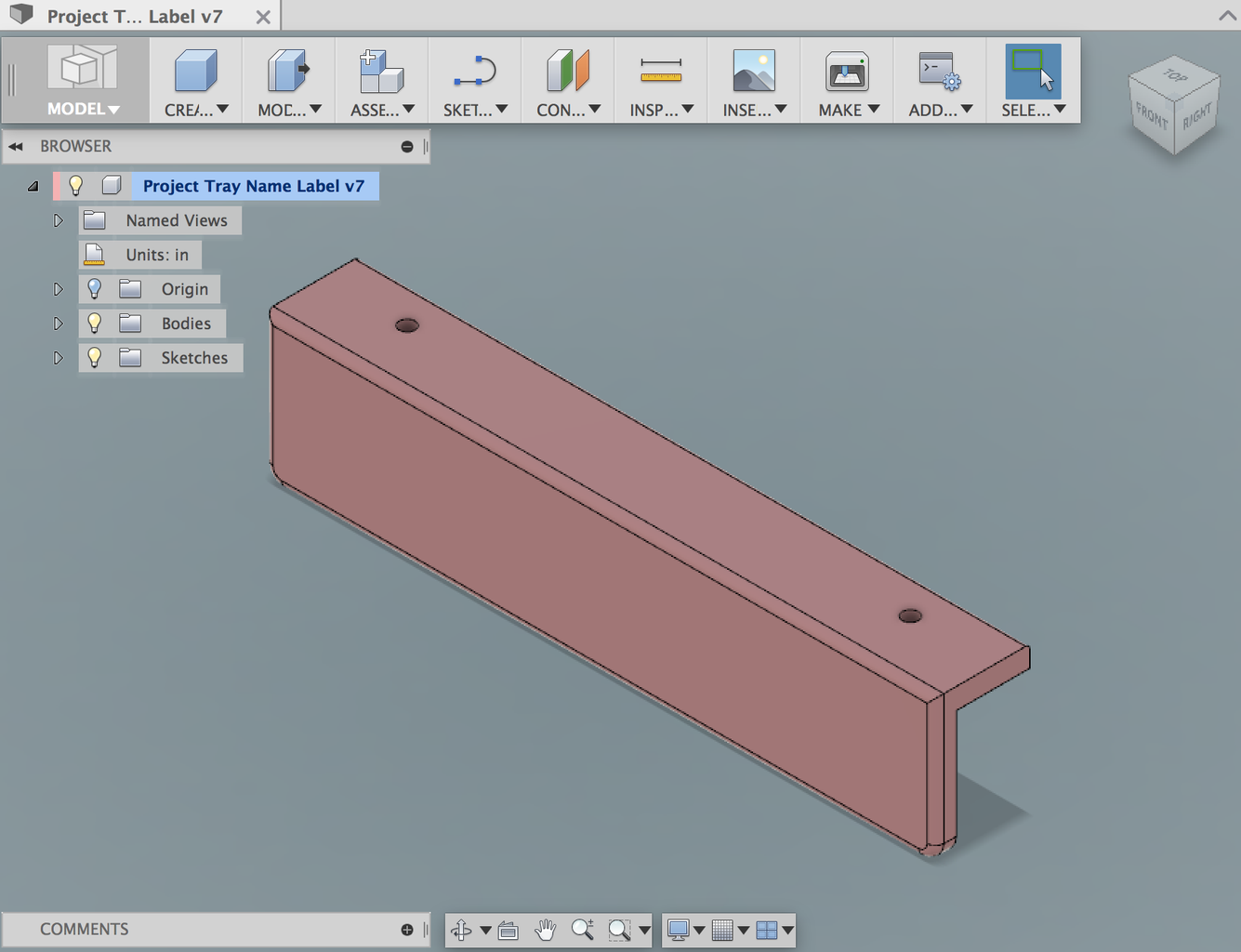 3D Print Nameplate