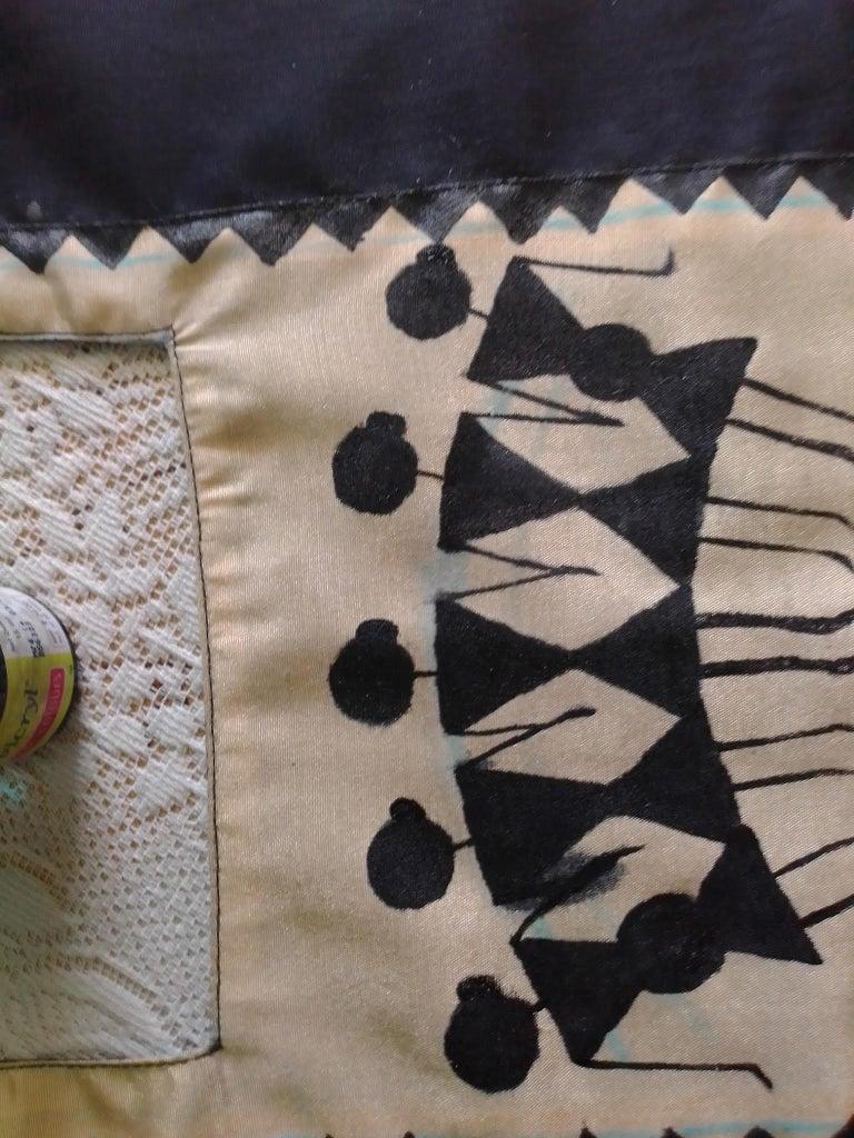 Printing Fun: the Tribal Women.