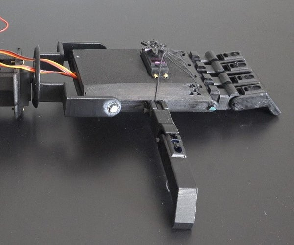 3D Printed Motorized Hand