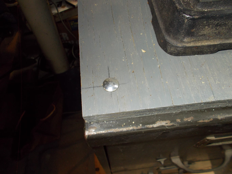 Mounting Th Drill Press