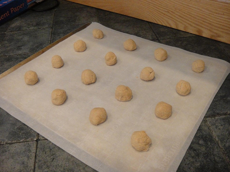 Preparing Cookies to Bake