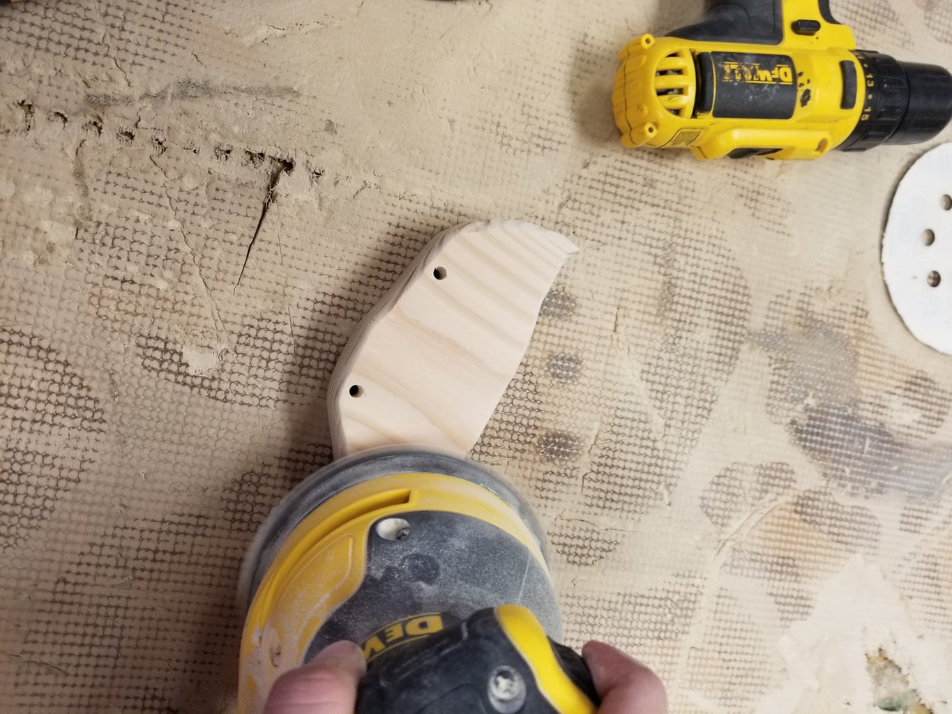 Sand and Router
