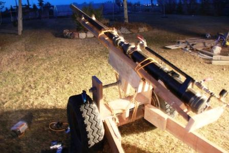 Howitzer Potato Cannon