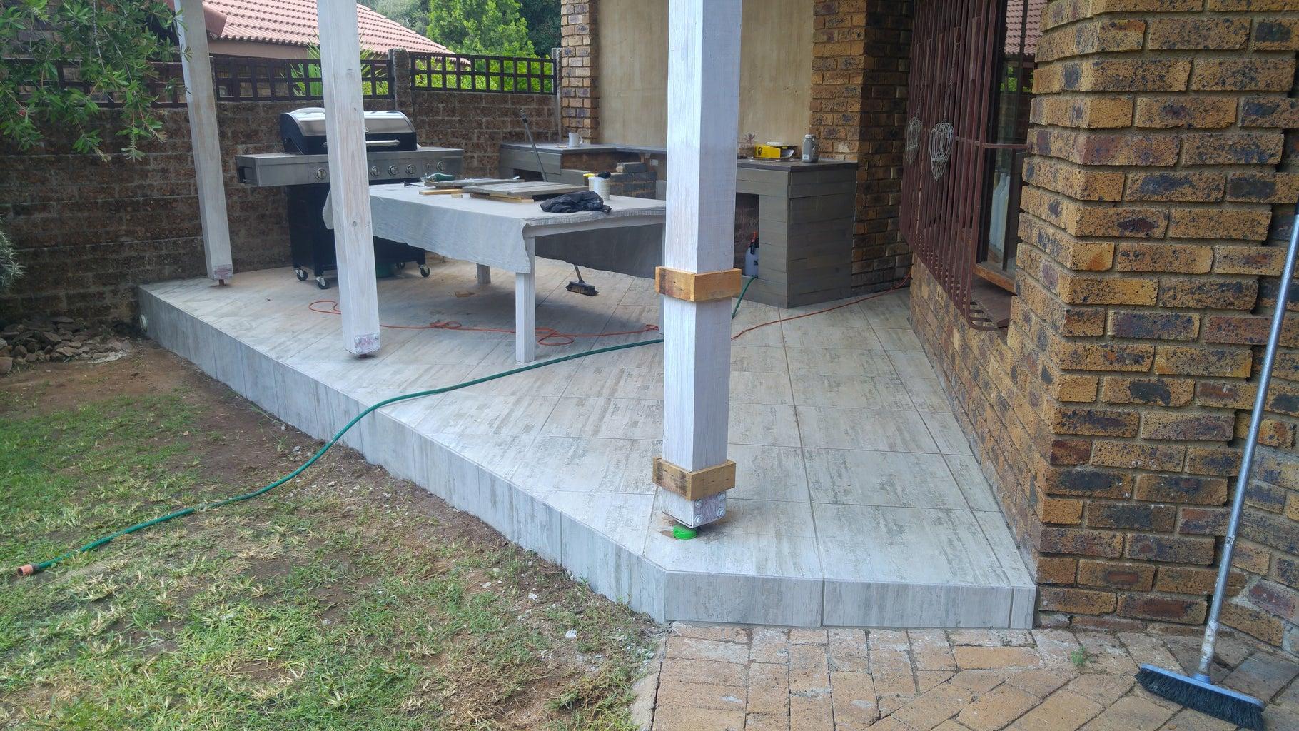 Final Tiling and Plumbing