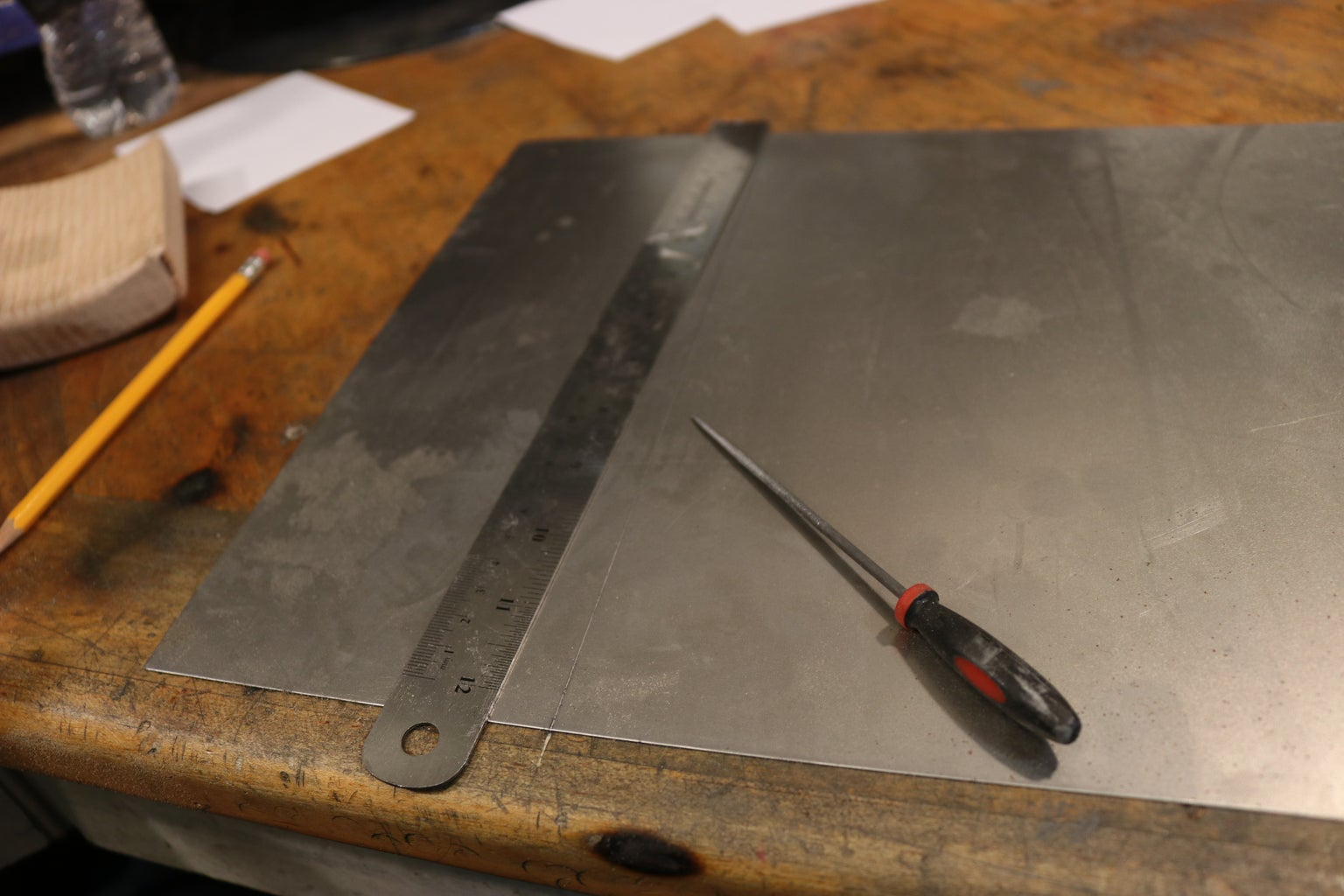 Cut the Shell Blanks to Size.