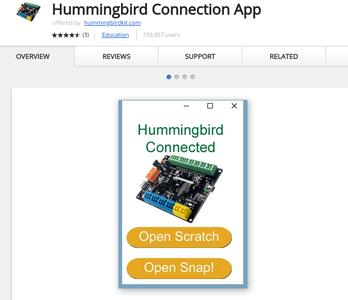 Download the Hummingbird App