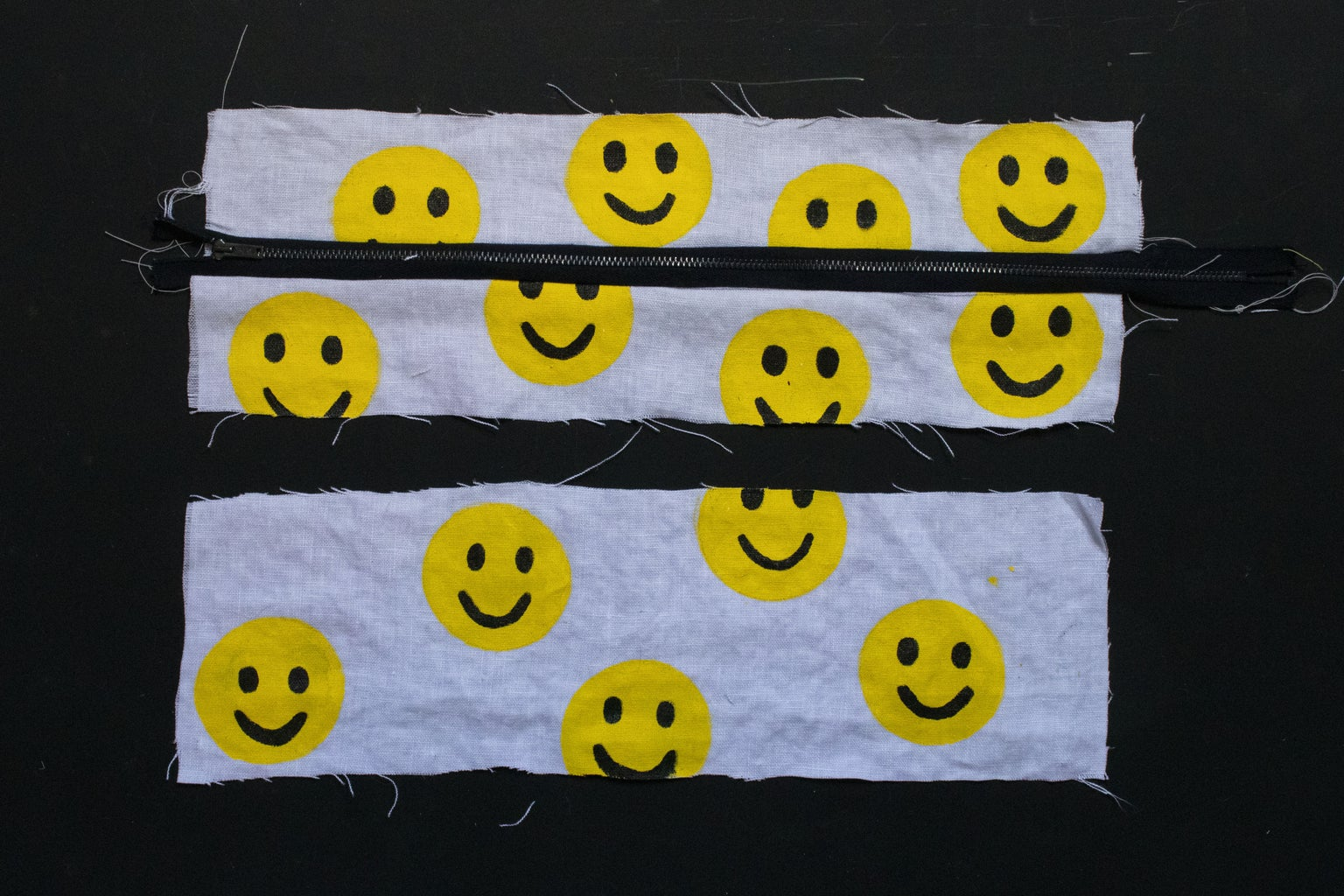 Sew the Top and Bottom Panels Together