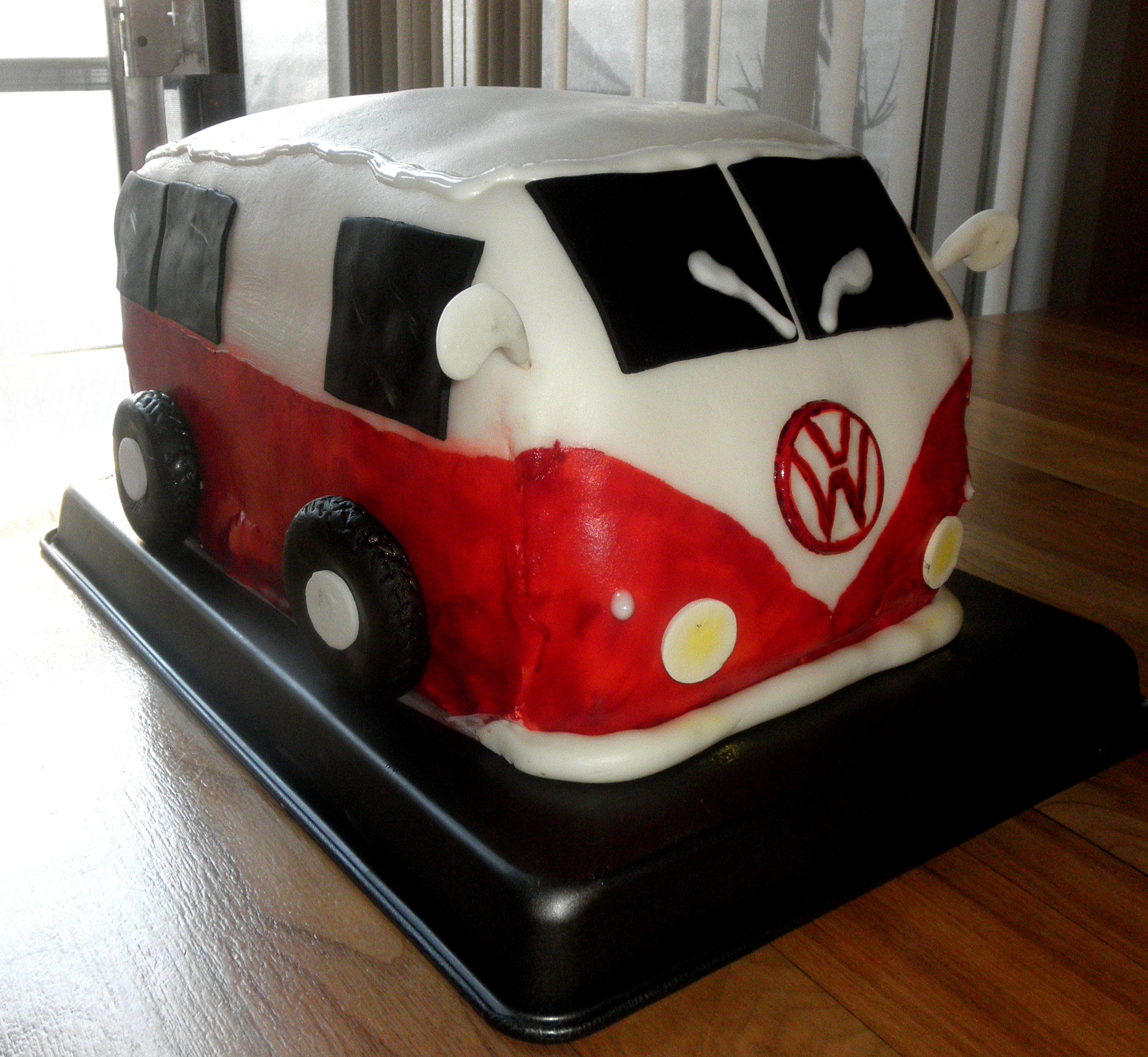 Vw Bus Cake 3 Steps With Pictures Instructables