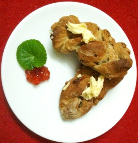 Fast Moist Apple Loaf and Slow Apple and Walnut Bread!