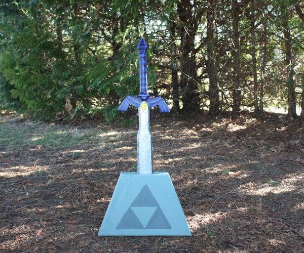 Cardboard Master Sword