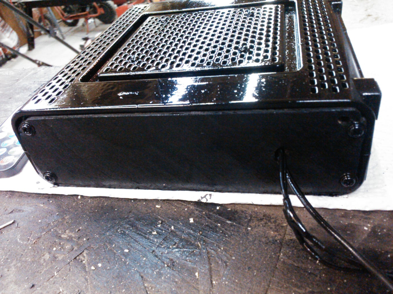 Install and Paint Backing Plate