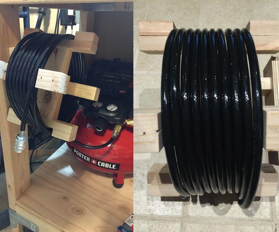 DIY Air hose reel